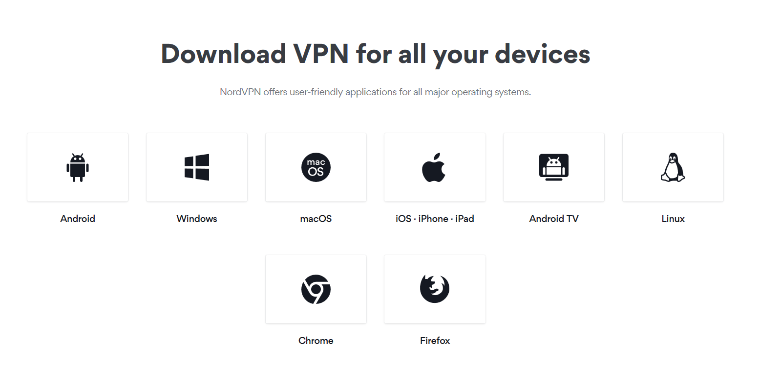 Download NordVPN For All Your Devices
