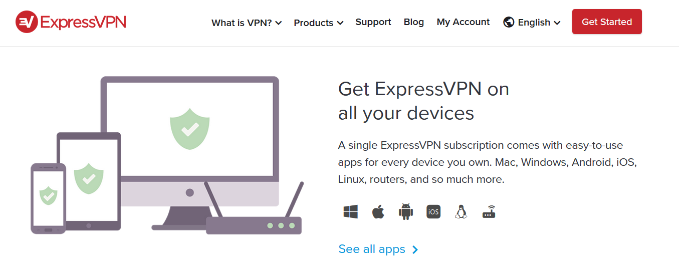 ExpressVPN Compatible With All Device