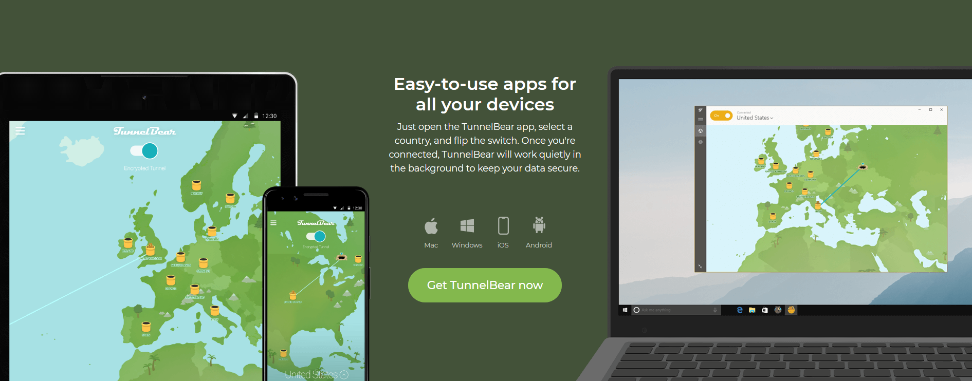 TunnelBear VPN Compatible With My Device