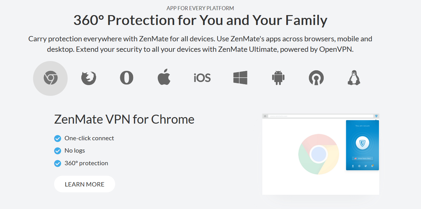 zenmate vpn Compatible With My Device